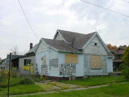 Verlaten huis Flint